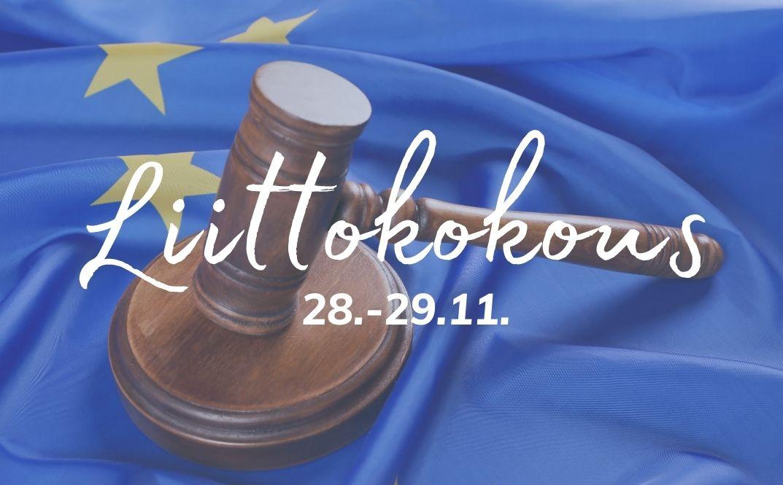Kutsu Eurooppanuoret ry:n sääntömääräiseen liittokokoukseen