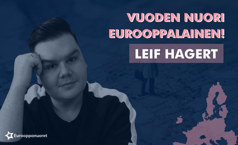 Leif Hagert vuoden nuori eurooppalainen